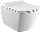 Унитаз подвесной CREAVIT Elegant Rim-Off EG321-11CB00E-0000 с сиденьем Soft Close