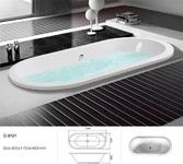 Акриловая ванна Atlantis C-3121
