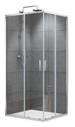 Душевая кабина Devit Art 2.0 90х90 (Профиль - хром, стекло - прозрачное) FEN2140