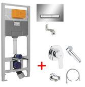 Инсталляции для унитаза Imprese 3 в 1 i8120 + Гигиенический душ Grohe Bau Edge 28512001