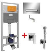 Инсталляции для унитаза Imprese 3 в 1 i8120 + Набор для гигиенического душа Volle LEON 15215200