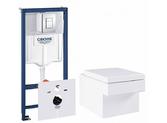 Комплект инсталляция+унитаз Grohe Rapid SL/Cube Ceramic (39244CB0)