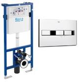 Система инсталляции 2 в 1 Roca Pro (A890090020+A890096001)