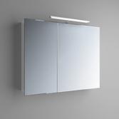 Зеркальный шкафчик Marsan Therese-2 650х700х150 с LED подсветкой, 017447