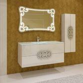 MALVINE Зеркало LED 730*1150 (40мм), 017399