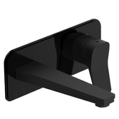 Смеситель для раковины скрытого монтажа Devit Up черный матовый 8101X120B