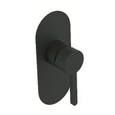 Смеситель скрытого монтажа для душа Devit Laguna черный матовый 84117110B