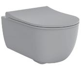 Унитаз подвесной Devit Art 2.0 серый матовый 3020140G с сиденьям soft-close