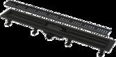 Душевой канал AlcaPlast 850 мм черный матовый APZ10BLACK-850M