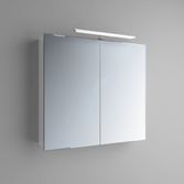 Зеркальный шкафчик Marsan Therese-3 650х800х150 с LED подсветкой, 017449