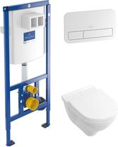 Система инсталляции 3 в 1 с унитазом Villeroy&Boch O.Novo (5660D301)