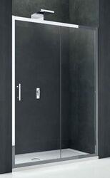 Дверь душевая Novellini Kali 2P 140 см (профиль серебро, прозрачное стекло) KALI2P134-1B