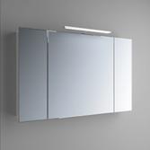 Зеркальный шкафчик Marsan Therese-4 650х1100х150 с LED подсветкой, 017456