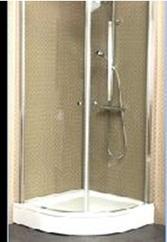 Frame to Frame распашные двери Villeroy&Boch полукруглые 90х90 см, проз/хром UDW9090SKA160  V-61