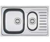 Мойка с сифоном нерж. PXL 651-78 декор Franke 101.0377.282