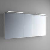 Зеркальный шкафчик Marsan Therese-5 650х1300х150 с LED подсветкой, 017460