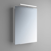 Зеркальный шкафчик Marsan Therese-1 800х550х150 с LED подсветкой,