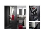 Дизайн-радиатор хром Frame 2032*474