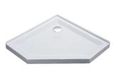 Душевой поддон Volle пятиугольный 1000х1000 мм белый 10-22-1010