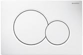 Кнопка смыва GEBERIT Sigma 01 белый 115.770.11.5